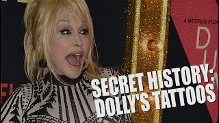 Where are Dolly Parton's Tattoos?! - The Secret History