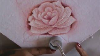 Dicas de pintura grátis – Rosas para iniciantes 2 – pintura em tecido por Cristina Ribeiro