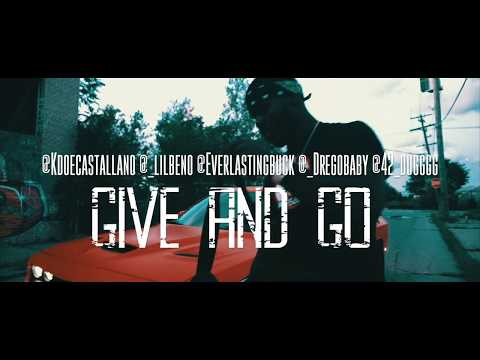 Kdoe ft. LilBeno x Drego x 42Dugg x EWM Buck - Give N Go Shot By @Kogoloud
