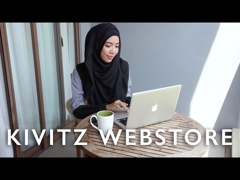 Shopping on KIVITZ Webstore