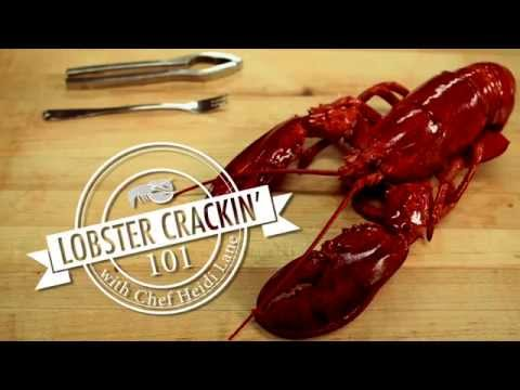 Red Lobster - Lobster Crackin' 101 with Chef Heidi Lane (HD 2014)
