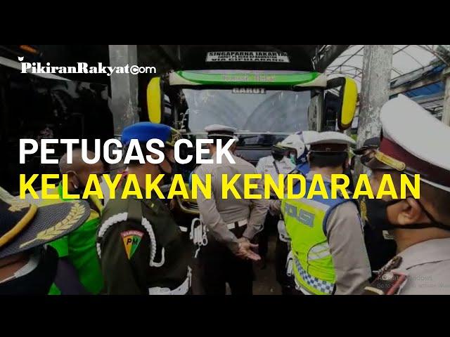 Hadapi Libur Panjang, Petugas Gabungan di Tasikmalaya Cek Kelayakan Kendaraan