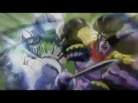Star Platinum and Silver Chariot Beating the Crap out of Alessi for 10 Hours