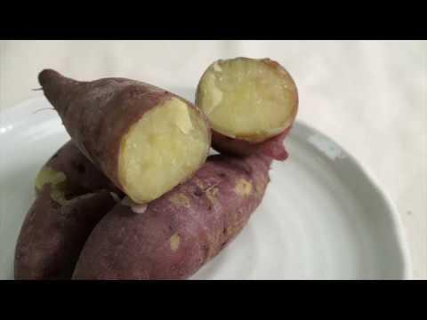 【日本金時地瓜】用電鍋做地瓜