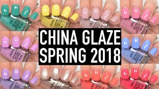 China Glaze - Chic Physique (Spring 2018) | Swatch and Review