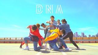figcaption BTS (방탄소년단) 'DNA' Dance Cover [AO Crew]