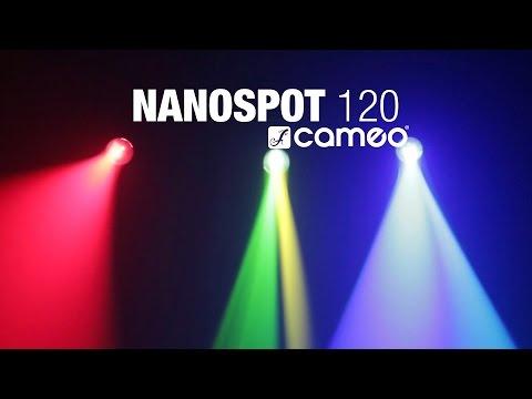 cameo nanospot 120 led mini moving head 12 w duration 130 cameo light 2321 views cameo hydrabeam 100 rgbw lighting set