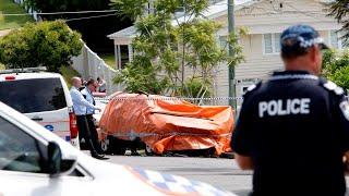 Four people, including three children, die in 'horrific' Brisbane car fire