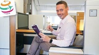 SWISS FIRST Class Boeing 777-300ER | GlobalTraveler.TV