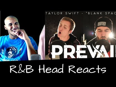 R&B Head Reacts to I Prevail - Blank Space