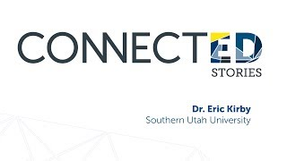 Image for vimeo videos on ConnectED: Dr. Eric Kirby, Southern Utah University, The Tavi Way to Student Success