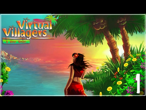 Our Volcano-Tossed Survivors!! • Virtual Villagers: A New Home - Episode #1
