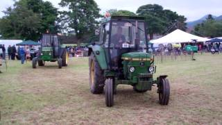 Tractors Vintage Agricultural Machinery Club Rally Strathmiglo Fife Scotland
