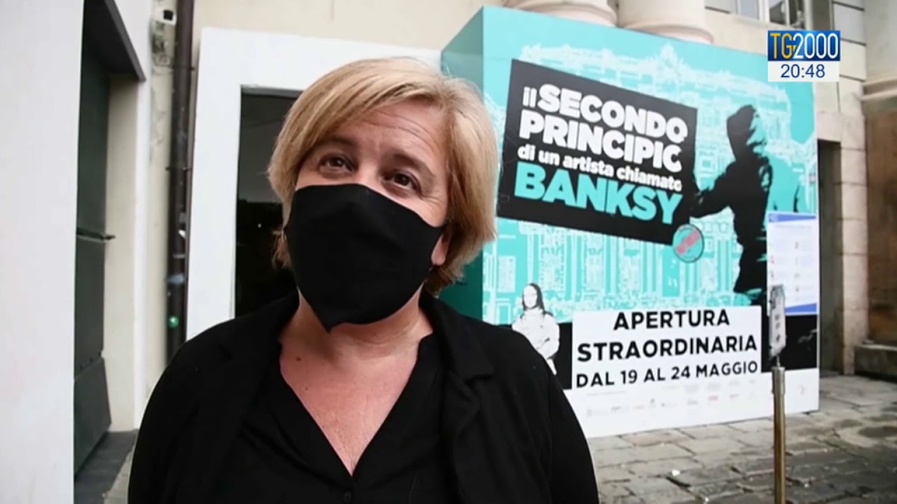 La Vena Artistica Genova musei capitolini aperti, a genova si riapre con banksy | tg2000