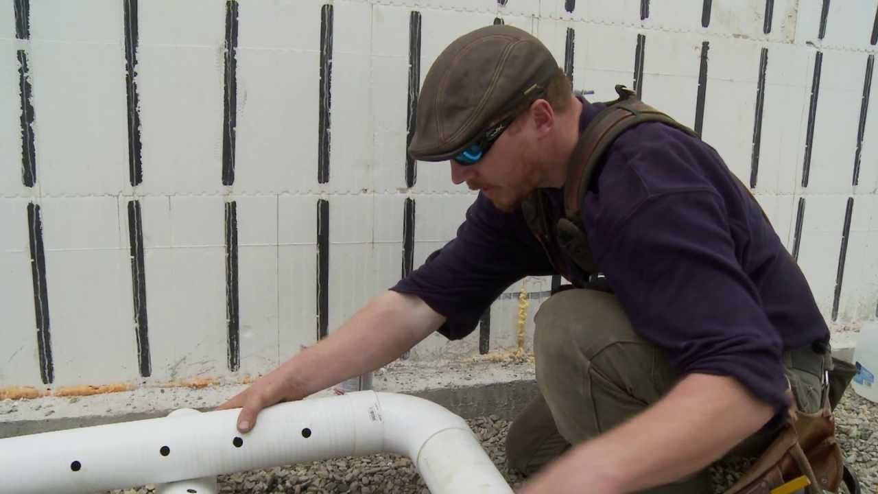 Radon Mitigation In New Construction Youtube