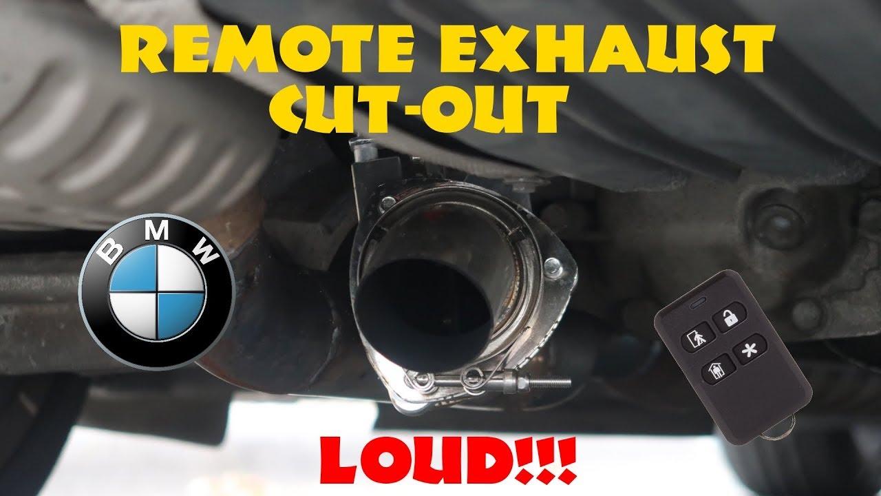 bmw e90 330i remote performance exhaust cutout diy