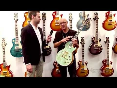 Gibson Les Paul Supreme Electric Guitar - NAMM 2015