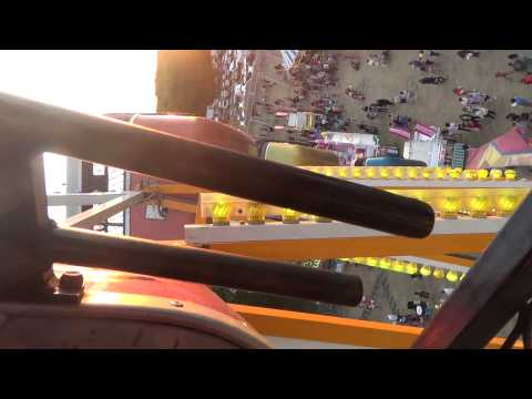 CRAZY NEW FERRIS WHEEL RIDE - POV - 2015 Italian American Festival, Ocean NJ - New Jersey Travel