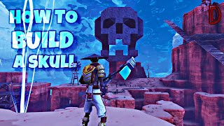 HOW TO BUILD A SKULL IN FORTNITE SAVE THE WORLD AND CREATIVE | EASIEST METHOD