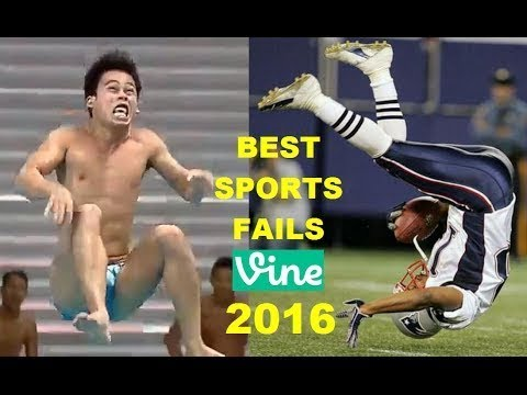 Best Funny Sports Fails Vines Compilation 2016 2017 Youtube