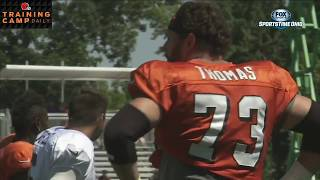 Joe Thomas on his practice schedule | BROWNS TRAINING CAMP