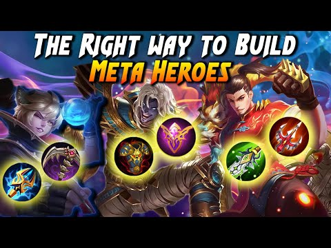 Top 7 Meta Heroes Build | Best Build For Op Heroes | Mobile Legends