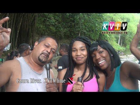 Caura River. KVTV lime