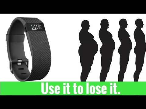 How to lose weight with a fitness tracker.