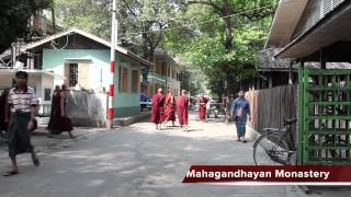 A guided tour of Mandalay in Myanmar (burma)