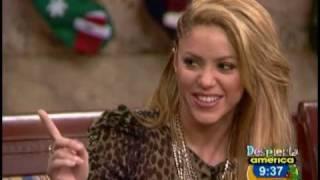 Shakira conoció al ganador del concurso