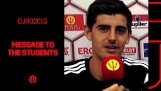 Thibaut, Eden and Dries send a unique message to all our students...