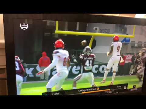 Lamar Jackson INT Fault Of Wide Receiver Tipped Pass, Not Louisville QB