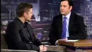 Jensen Ackles on the Jimmy Kimmel Show