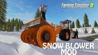 SNOW BLOWER MOD in Farming Simulator 2017   WHEN WILL IT COME 4 CONSOLE   PC   PS4   Xbox One