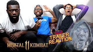Mortal Kombat 11 - Fatality Montage Trailer Reaction