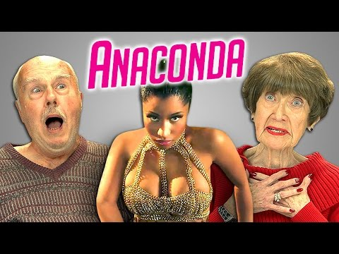 Elders React to Nicki Minaj - Anaconda