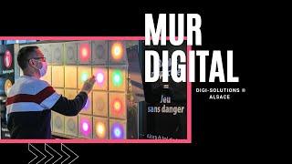 DIGI-SOLUTIONS ALSACE ©. Le concept du mur digital pour des solutions RH ludiques et innovantes