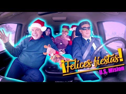 "Carpool Karaoke ""De Fiesta"" - Embajada EE.UU. Quito"