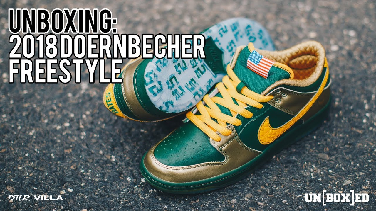 hot sale online d16eb f5fc6 UNBOXED: 2018 DOERNBECHER FREESTLYE COLLECTION EVERY PAIR EXPLAINED EP:42