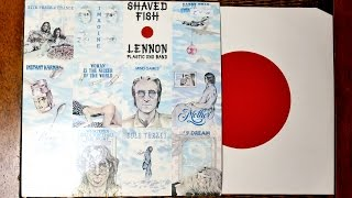 John Lennon - Shaved Fish - 1975 compilation album - Vinyl unboxing