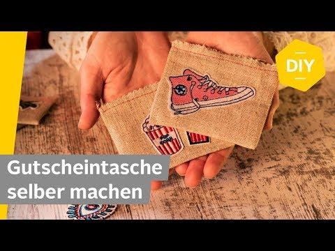 DIY: Gutscheine schön verpacken — Gutscheintasche selber machen | Roombeez - powered by OTTO