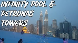 Gambar cover BEST Value AirBnB in KL? INFINITY POOL with Views of Petronas Towers for Under $100!