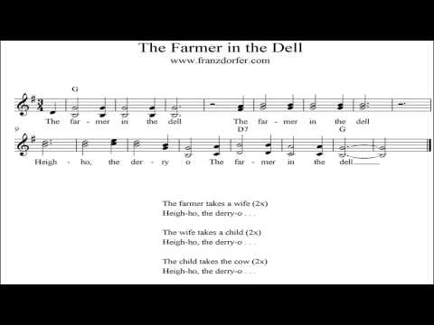 The farmer in the dell - karaoke