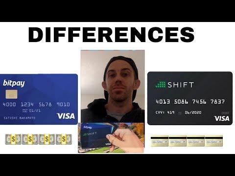 BITPAY DEBIT CARD VS SHIFT CARD REVIEW - QUICK BREAKDOWN