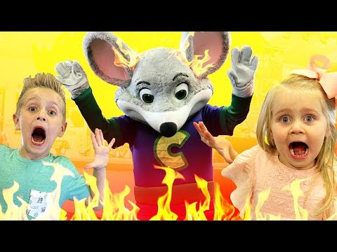 Will Chuck E Cheese Play Floor is LAVA with KIDS?? Family Fun & Arcade Games Challenge! thumbnail