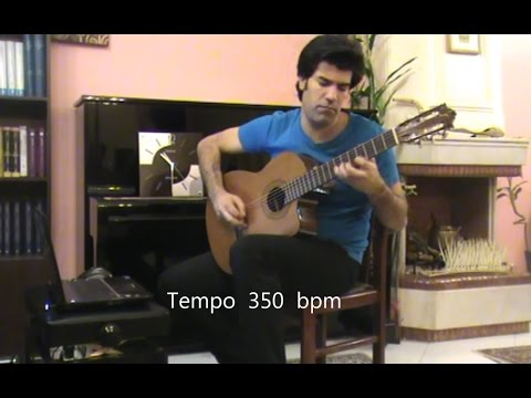 Fastest Spanish Guitarist In The World