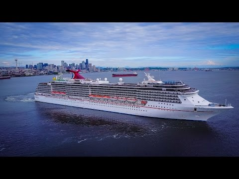 Epic Carnival Legend Departure - Seattle-Alaska - UHD/4K