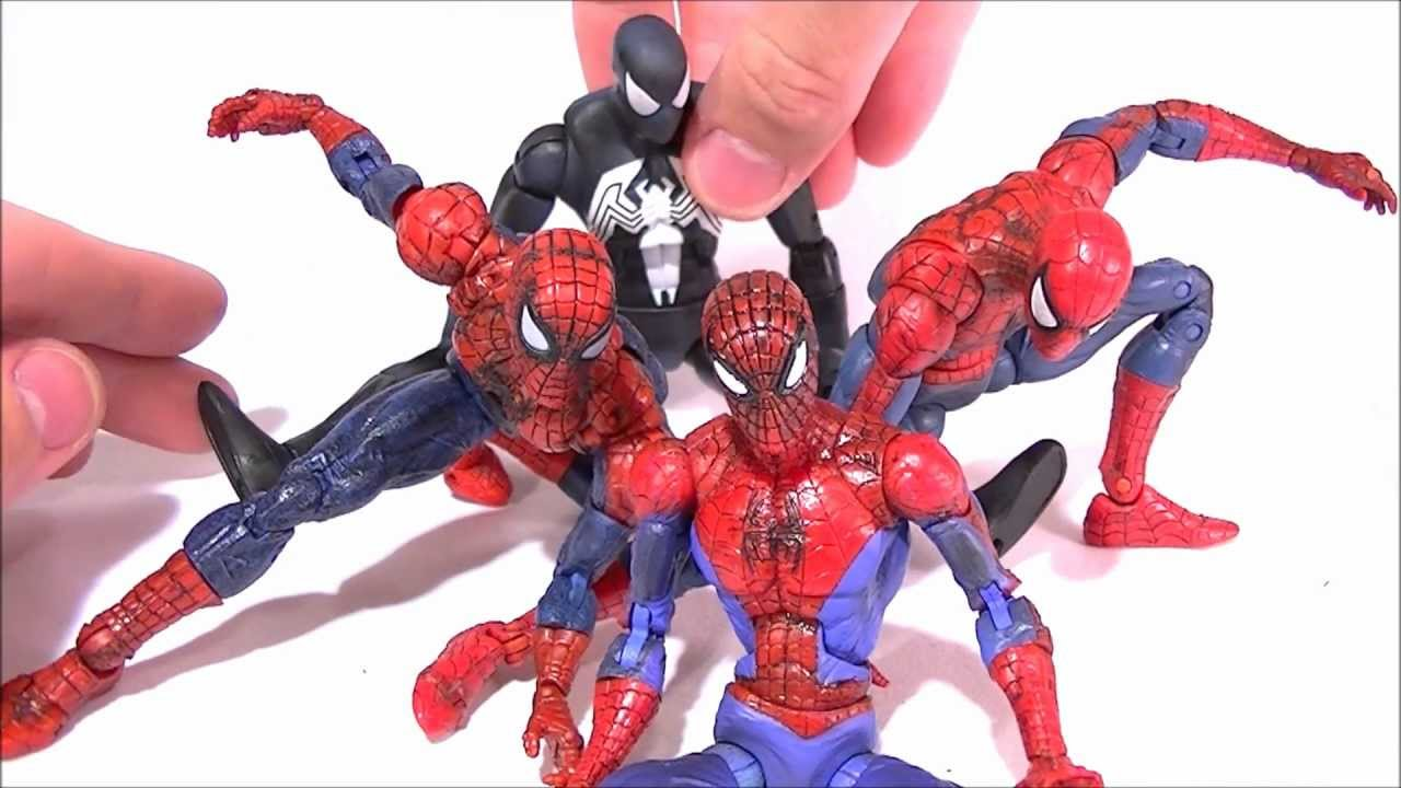 Marvel Legends SPIDER-MAN Comparative Review - YouTube
