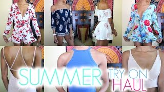 HUGE SUMMER TRY-ON HAUL 2016 | Shein & Romwe • Lawenwoss
