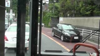路線バスがもたつく迷惑自家用車にクラクション軽く繰り返す 鎌倉大仏前 【京浜急行バス】 thumbnail